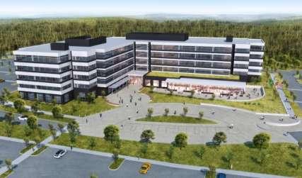 Des Moines Creek Business Park Rendering