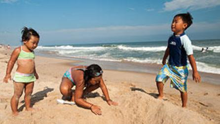 Beaches for family vacations