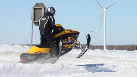 Snowmobiling in Tug Hill - Photo by Brad Zehr