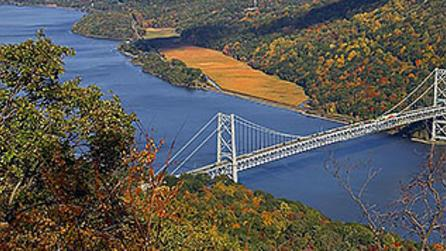 Bear Mountain Bridge from Bear Mountain State Park