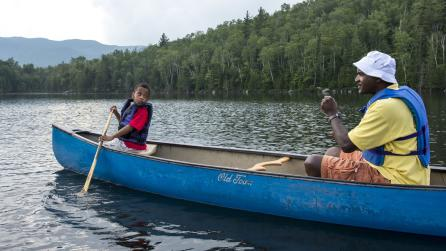 Seasons Summer - Canoeing