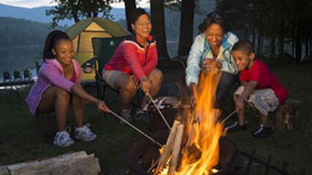 Camping Adirondack loj Wilderness Campground in Adirondacks