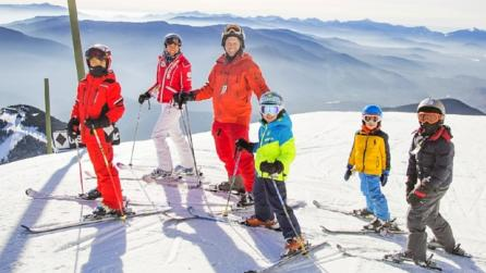Whiteface - skiing family