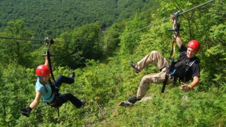 NY Zipline Canopy Tours