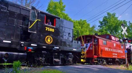 FATHERS DAY - COLEBROOKEDALE RAILROAD