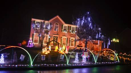 Schwenksville Holiday Lights