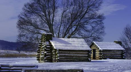 Valley Forge Park Muhlenberg Brigrade Huts
