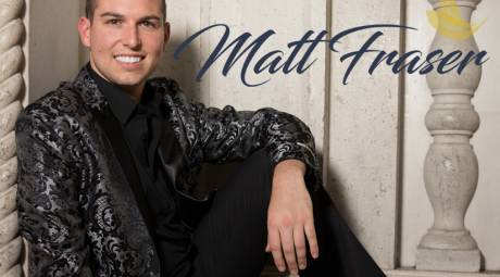 Matthew Fraser will be performing at the Valley Forge Casino Resort on January 14