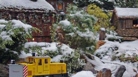 Morris Arboretum of the University of Pennsylvania Holiday Garden Railway