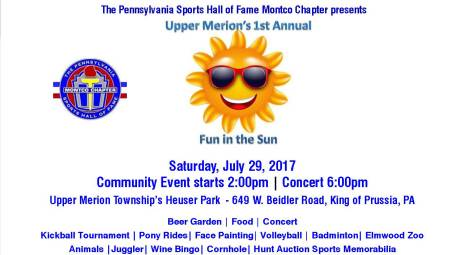 Upper Merion Fun in the Sun 2017