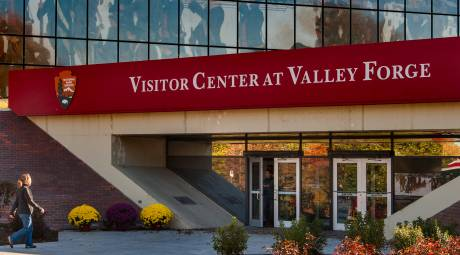 Valley Forge Park Visitor Center Header