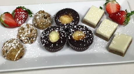 A Taste of Britain Mini Pastries