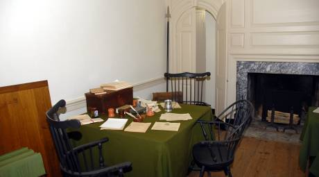 The Aid's Room at Washington's Headquarters