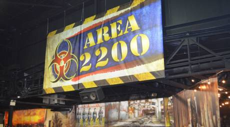 HAUNTED ATTRACTIONS - AREA 2200