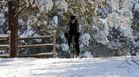 Outdoor Winter Activities - Bike Ride