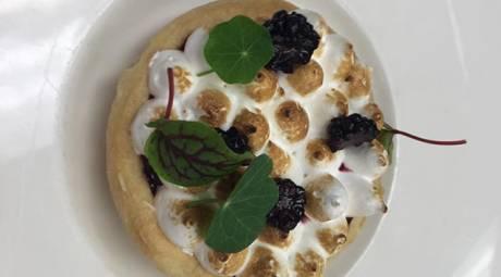 Dettera Lemon Blackberry Meringue Pie