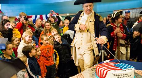 Valley Forge Park Annual Events - Washington's Birthday Party