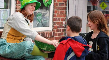 ST PATRICKS DAY - GREAT NARBERTH LEPRECHAUN HUNT