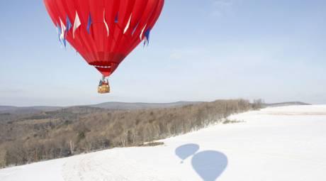 Outdoor Winter Activities - Balloon Rides