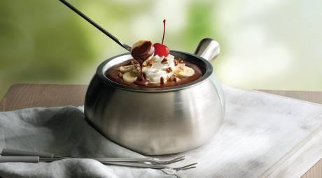 The Melting Pot Chocolate Fondue