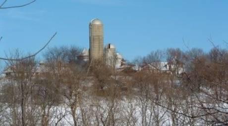 Norristown Farm Park in Winter