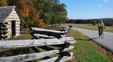 Valley Forge Park - Biking
