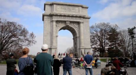 Valley Forge Park Annual Events - Veterans Day Commemoration