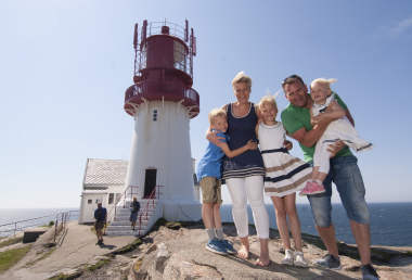 Lighthouse Holiday In Southern Norway Official Travel Guide To - Norway lighthouses map