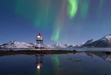 View The Northern Lights In Vesterålen Norway - Vesteralen norway map