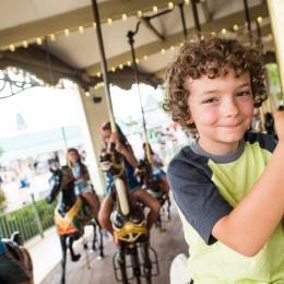 Dorney Park carousel