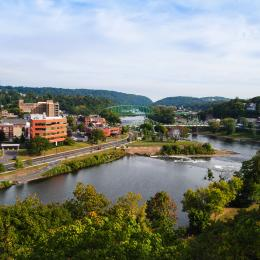 Easton Downtown View Discover Lehigh Valley