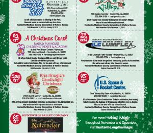 2016 Holiday Coupon Sheet