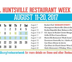 Huntsville Restaurant Week Special Events