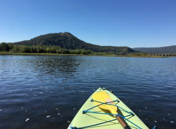 Kayaking on the Susquehanna River
