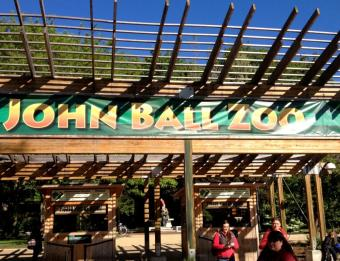 John Ball Zoo Entrance