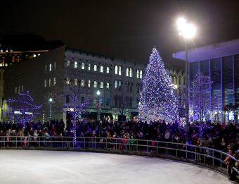 Tree Lighting - Rosa Parks Circle