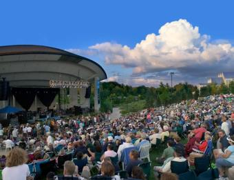Insider Tip: Fifth Third Bank Summer Concert Series will be held rain or shine! Bring your ponchos and small umbrellas if there's a high probability of rain.
