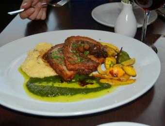 Porchetta at Osteria Rossa