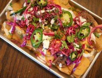 Nachos at The Winchester