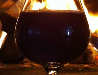 Harmony Brewing Co Winter Night