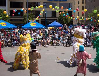 Grand Rapids Asian-Pacific Festival by Regina Grover