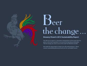 Beer the Change