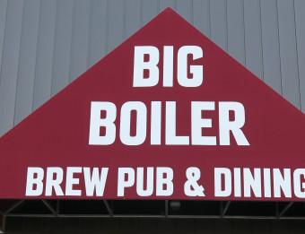 Exterior of Big Boiler Brew Pub