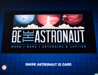 "Grand Rapids Public Museum ""Be the Astronaut"" exhibit"