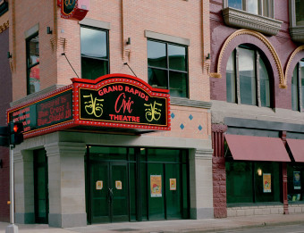 Exterior of Civic Theatre