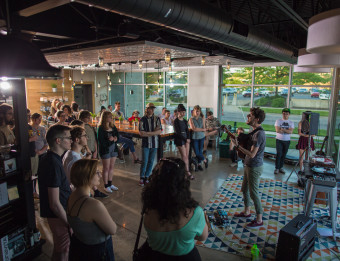 Ferris Coffee and Music Series