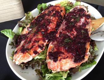 Salmon Dish from Fish Lads