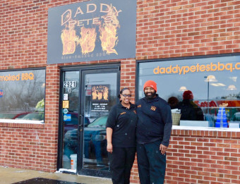 Owners of Daddy Pete's BBQ