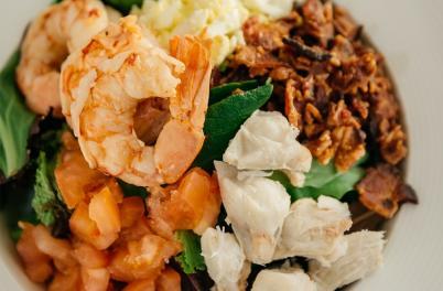 Shrimp dish from Steam Restaurant
