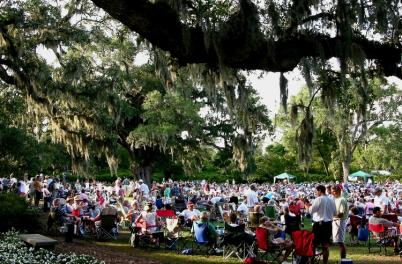 Concert at Airlie Gardens